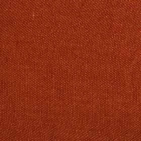Lupina - Orange Red - 100% linen fabric made in a light shade of tomato red