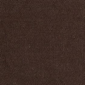 Lupina - Brown - Very dark brown 100% linen fabric finished with a very subtle dark purple tinge
