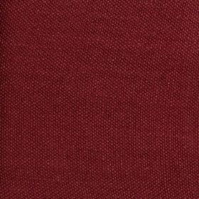 Lupina - Red - Fabric made from 100% linen in a deep, indulgent cherry colour