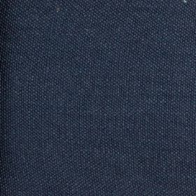 Lupina - Blue - Rich navy blue coloured fabric made with a 100% linen content