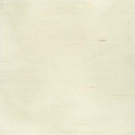 Mulberry Dupion - Ivory - Plain ivory silk fabric