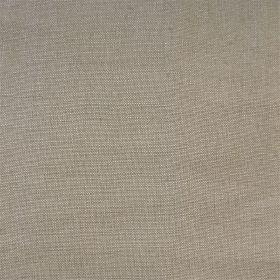 Persian Linen - Taupe - Plain grey linen fabric