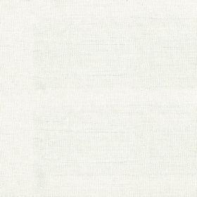 Duck Weave - Oyster - Plain cream linen fabric