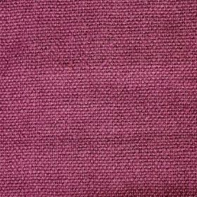 Pluto - Pink Purple - Dark pink-magenta coloured woven linen fabric