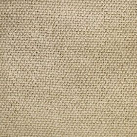 Pluto - Natural - Woven linen fabric the colour of straw