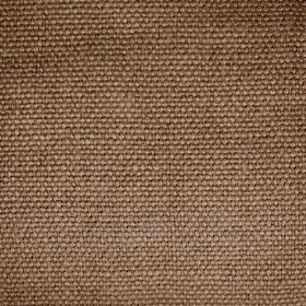 Pluto - Brown Gold - Coffee coloured fabric made from linen