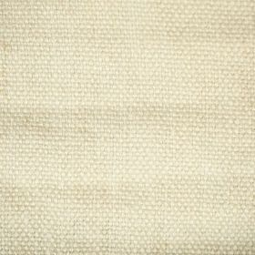 Pluto - Ivory Cream - Cream coloured linen fabric made up of thick threads