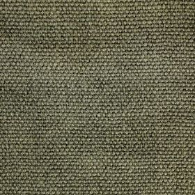 Pluto - Green - Olive green coloured threads which have been tightly woven into linen fabric