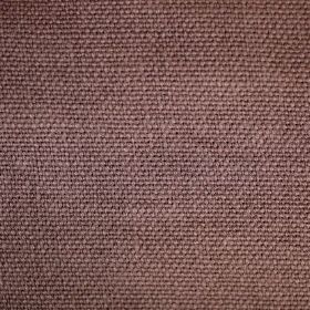 Pluto - Pink Purple - Unusually coloured woven linen fabric, which appears to be a mix of purple and brown