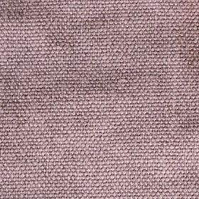 Pluto - Purple - Light mauve coloured linen fabric which has been woven