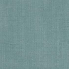 Mulberry Dupion - Celedon Blue - Plain blue silk fabric