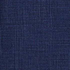 Provence - Navy - Rich Royal blue coloured fabric made from linen, cotton and viscose