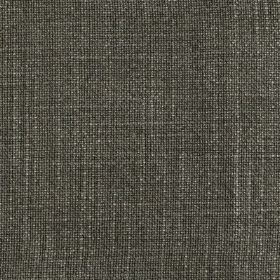 Provence - Moss - Linen, cotton and viscose blend fabric made in dark grey, featuring a few subtle white threads