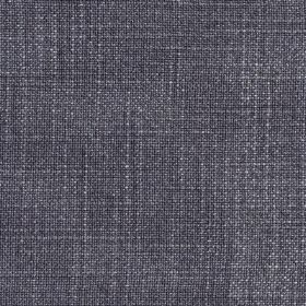 Provence - Lilac - A few white threads woven into linen, cotton and viscose blend fabric made in a dark shade of denim blue