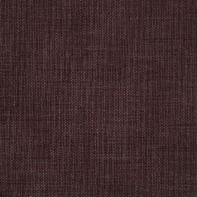 Reims - Brown - Dark brown coloured cotton fabric with a very subtle dark purple tinge