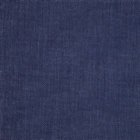 Reims - Blue - Dark, denim blue coloured cotton fabric