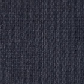 Reims - Grey Black - Dark blue-indigo coloured denim style cotton fabric