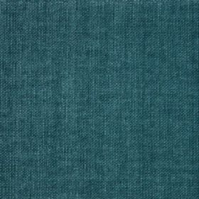 Reims - Green - Cotton fabric in deep turquoise