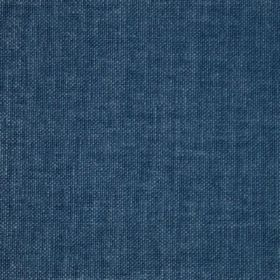 Reims - Blue - Cotton fabric in a flat shade of denim blue