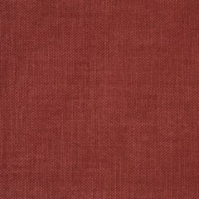 Reims - Red Orange - Cotton fabric which is reddish brown in colour