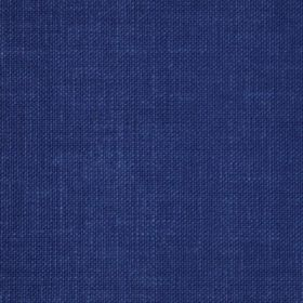 Reims - Blue - Plain royal blue coloured cotton fabric