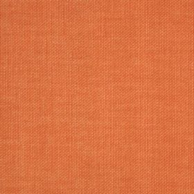 Reims - Red Orange - Fabric which has been made from cotton in a bright orange colour