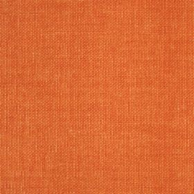 Reims - Red Orange - Plain cotton fabric in a bright shade of orange