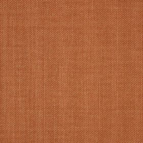 Reims - Red Orange - Warm caramel coloured cotton fabric