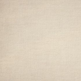 Reims - Cream - Vintage ivory coloured plain cotton fabric