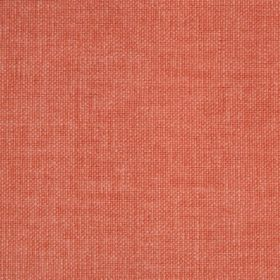 Reims - Red Orange - Salmon pink coloured cotton fabric
