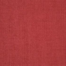 Reims - Red Orange - Fabric made from thin dusky red coloured threads
