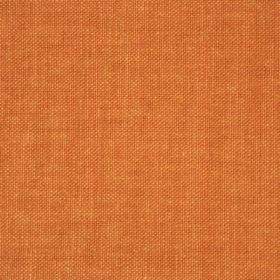 Reims - Red Orange - Orange coloured cotton made into an unpatterned fabric