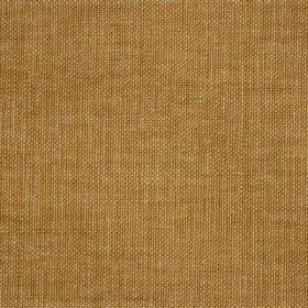 Reims - Gold Yellow - Golden brown coloured plain cotton fabric