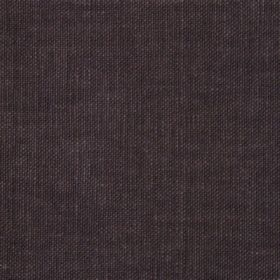 Reims - Brown - Very dark grey-brown coloured fabric made from cotton