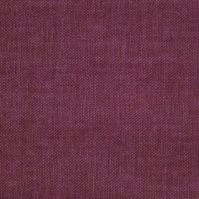 Reims - Pink Aubergine Purple - Fabric made from cotton in a plain, rich purple colour