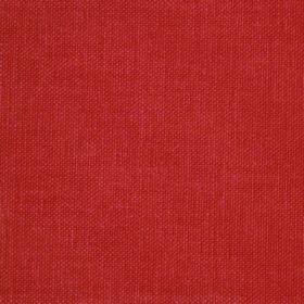 Reims - Red Orange - Cotton fabric in a solid shade of bright red