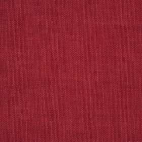Reims - Red Orange - Swatch of burgundy coloured fabric made from cotton
