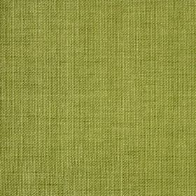 Reims - Green - Unpatterned lime green fabric made from cotton