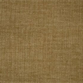 Reims - Brown - Cotton fabric in a flat green-brown colour
