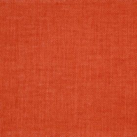 Reims - Red Orange - Plain burnt orange coloured cotton fabric