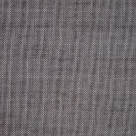 Reims - Grey Black - Grey-purple coloured plain cotton fabric