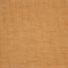 Reims - Red Orange - Square sample of pumpkin coloured cotton fabric