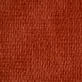 Reims - Red Orange - Cotton fabric in a dark terracotta colour