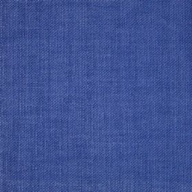 Reims - Blue - Denim blue coloured unpatterned cotton fabric
