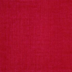 Reims - Red Orange - Crimson coloured cotton fabric with no pattern or texture