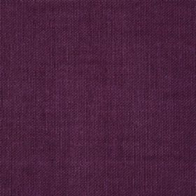 Reims - Pink Aubergine Purple - Plain cotton fabric in a rich purple colour with no pattern
