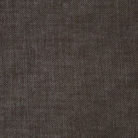 Reims - Brown - Unpatterned charcoal grey coloured cotton fabric