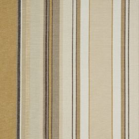Ribolla - Ourin - Elegant vertical stripes printed on 100% cotton fabric in various different shades of grey, beige, sandy brown and white