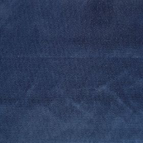Saturn - Blue - Marine blue fabric with a soft, velvety texture