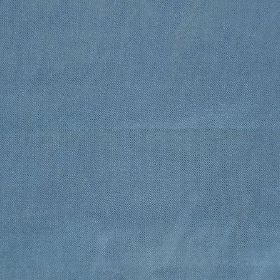 Saturn - Blue - Plain fabric with no pattern or embroidery, in a solid shade of dusky cobalt blue